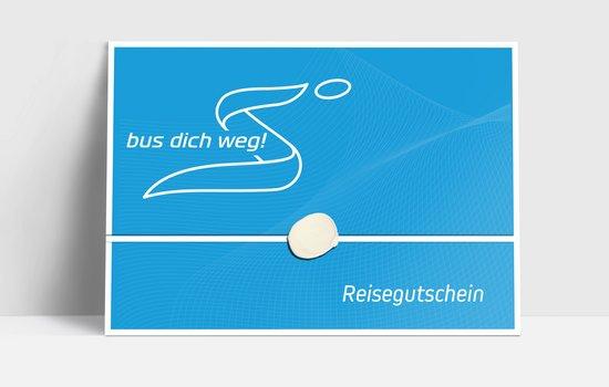 Bus dich weg! Gutschein € 50,00